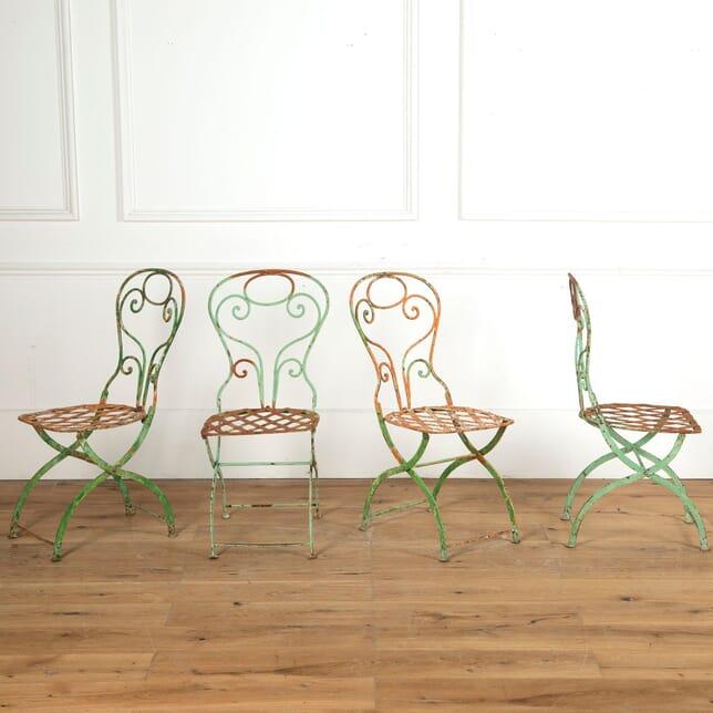 Four French Garden Chairs GA7510999