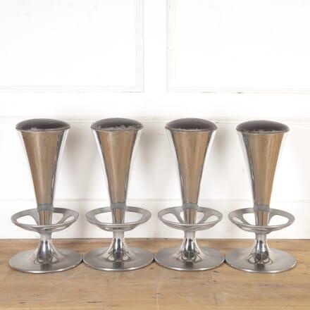 Set of Four Italian Mid Century Bar Stools ST7916572