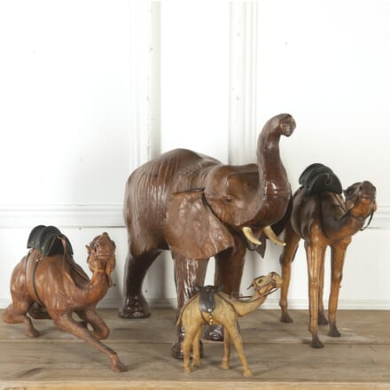 Four Leather Animals DA7914005