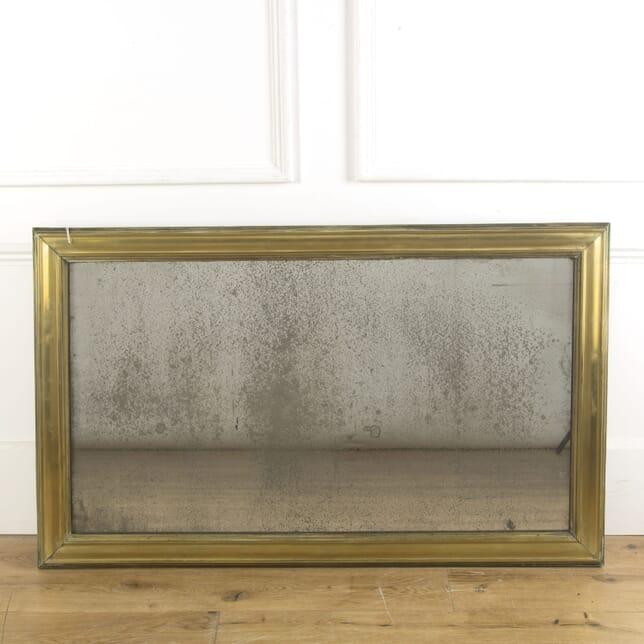 Foxed Brass Bistro Mercury Mirror MI719670