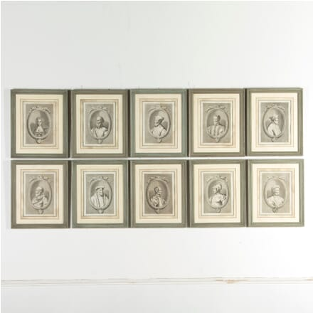 55 Framed Engravings of The Grand Masters of the Order of St John WD7511523