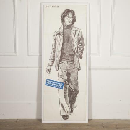Marche Pour la Paix John Lennon Poster WD2915884
