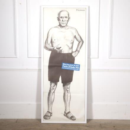 Marche Pour la Paix Picasso Poster WD2915885