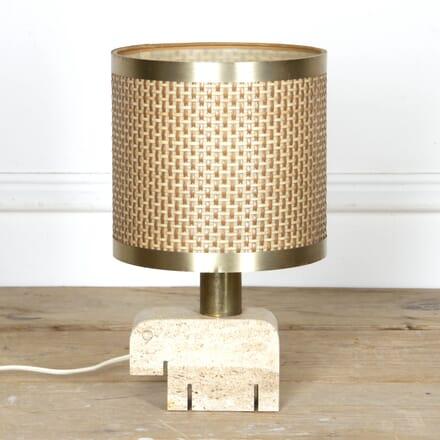 Travertine Table Lamp by Fatelli Mannelli LT2917459
