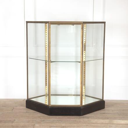 French Freestanding Brass Display Cabinet BK9214144