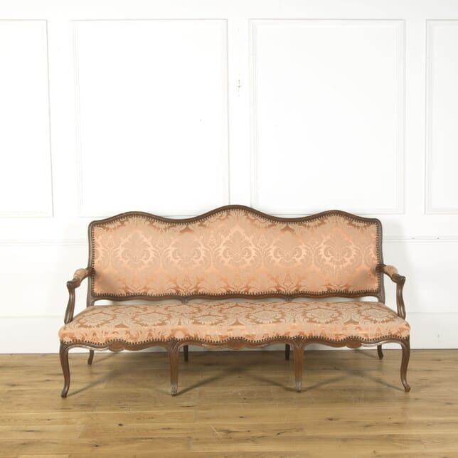 18th Century French Serpentine Sofa SB379514