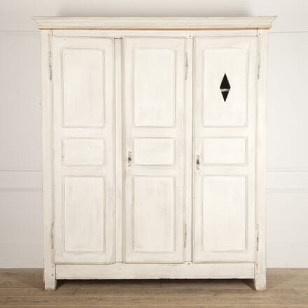 French 18th Century Painted Armoire CU4415858