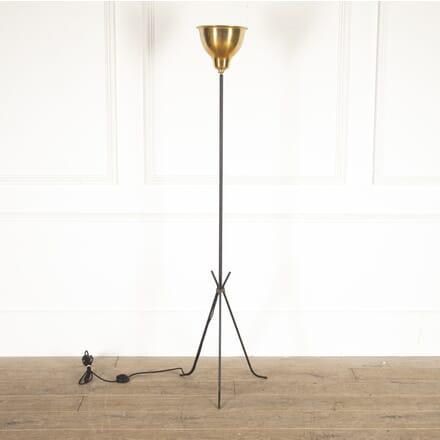 French 1950s Uplighter Floor Lamp LF4514285