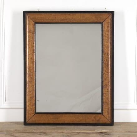 French 19th Century Burr Maple Mirror MI1515399