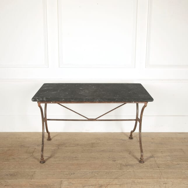 French 19th Century Cast Iron Table TD0211455