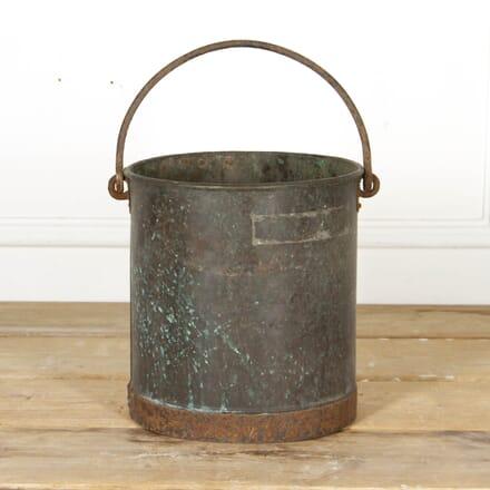 French 19th Century Copper Bucket DA2817177