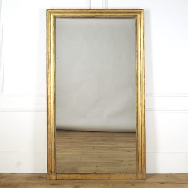 19th Century French Giltwood Mirror MI379517