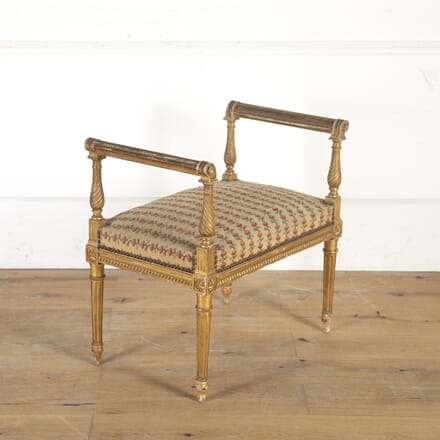 French 19th Century Giltwood Stool ST0314951