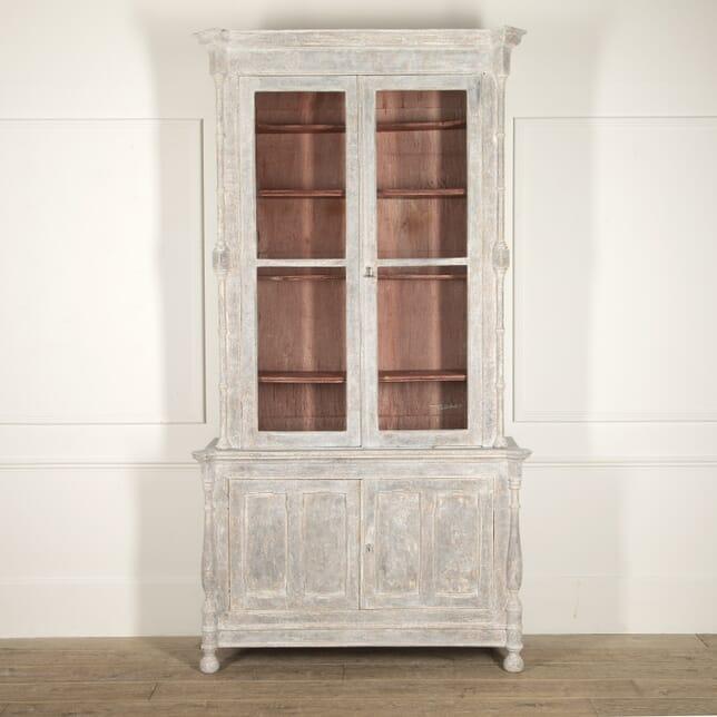 French 19th Century Glazed Bookcase BK3514751