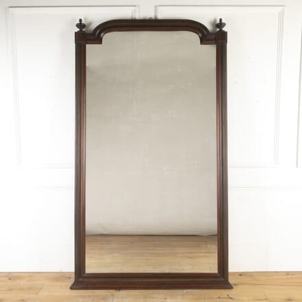 French 19th Century Mahogany Mirror MI8715309