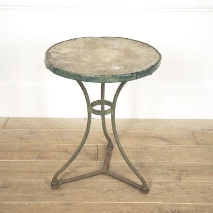 French 19th Century Bistro Table GA4117004