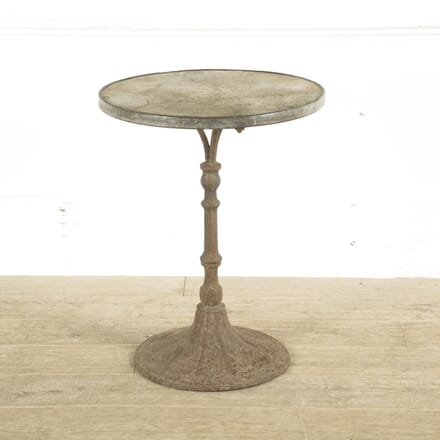 French 19th Century Marble Top Gueridon Bistro Table GA4110241
