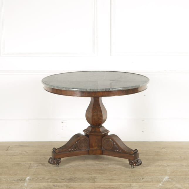 French 19th Century Marble Topped Centre Table TC889719