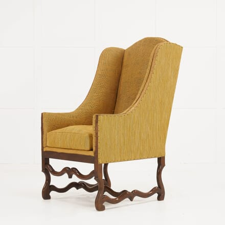 French 19th Century Os De Mouton Armchair CH069914