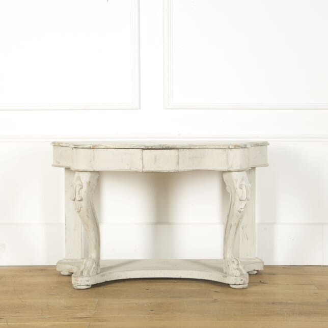 French 19th Century Painted Console CO379513
