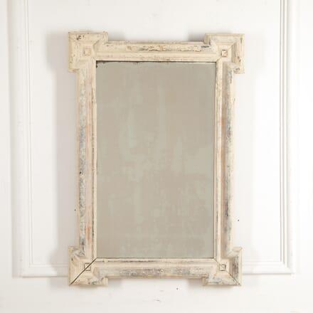 French 19th Century Painted Mirror MI2816156