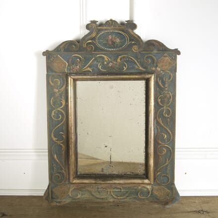French 19th Century Painted Mirror MI0910093