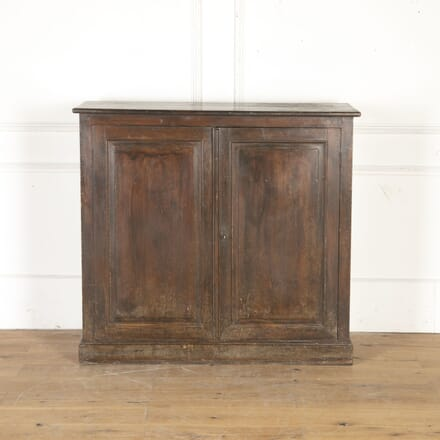 French 19th Century Painted Pine Cupboard BU4315532