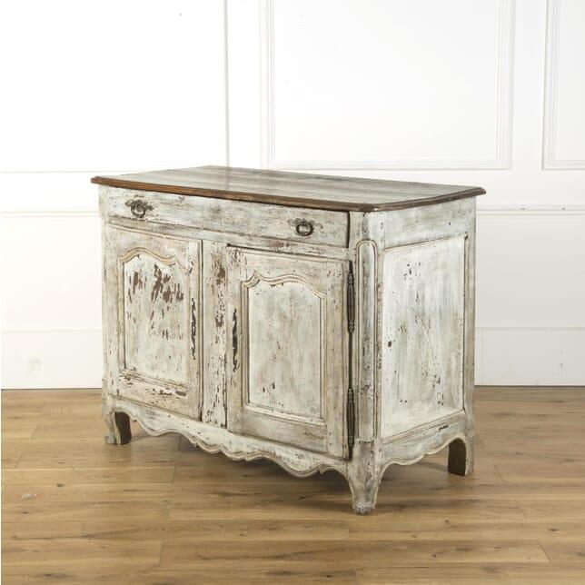 French 19th Century Painted Walnut Dresser Base CC409277