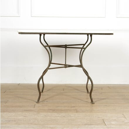 French 20th Century Iron and Marble Centre table TC2817171