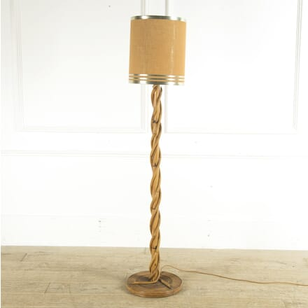 French Bamboo and Rattan 1970s Standard Lamp LF4110245