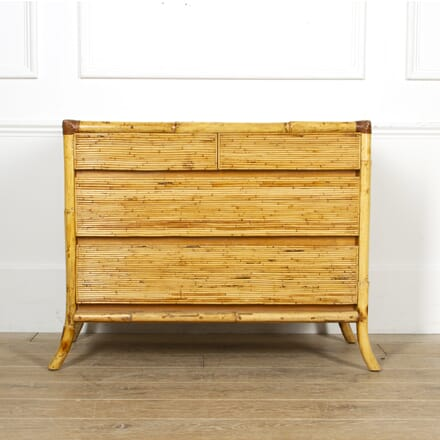 French 20th Century Bamboo Commode CC4517164