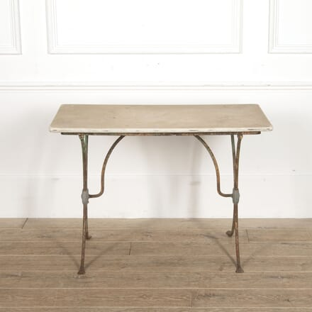 French Bistro Table with Marble Top CO3515518