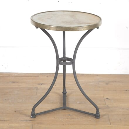 French Bistro Table with Marble Top GA9016107