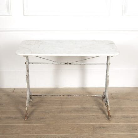 French Bistro Table with Marble Top GA1516518
