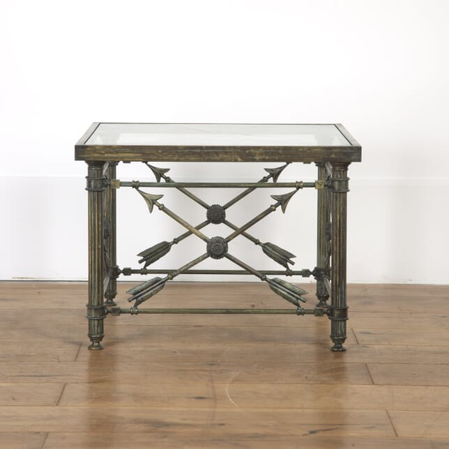 French Mid Century Brass Side Table TC7916786