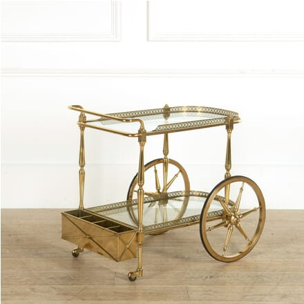 French Brass Cocktail Trolley TS159071