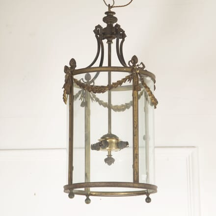 French Bronze Circular Lantern LL4812927