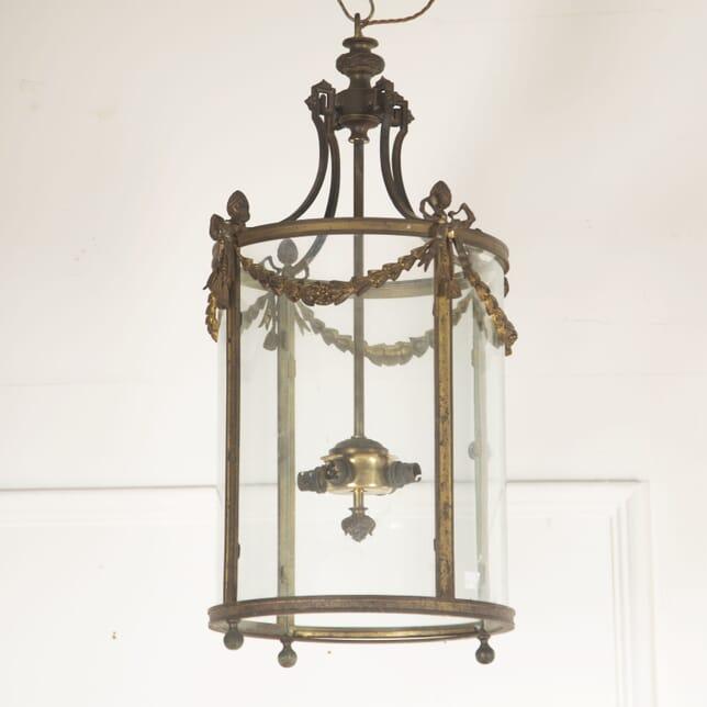 French Bronze Circular Lantern LL4812927