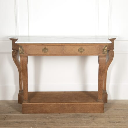 French Bird's-Eye Maple Console Table CO4816583