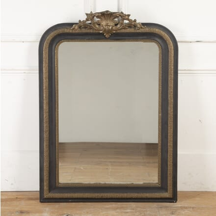 French Louis Philippe Ebonised and Gilt Mirror MI8716393