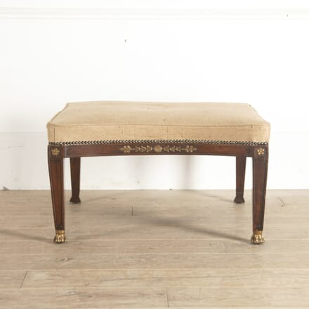 French Empire Mahogany Stool SB4513617
