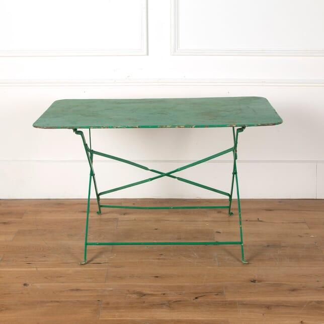 French Folding Garden Table GA7110774