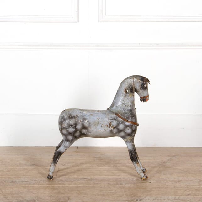 French Gesso and Wood Horse DA2010332
