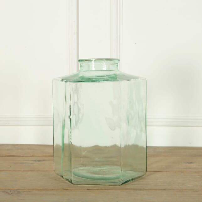 French Glass Biscuit Jar DA719151