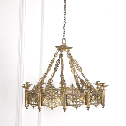 French Gothic Revival Chandelier LL1515391