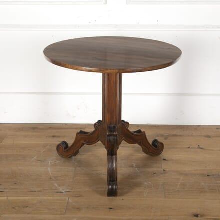 French Gothic Tilt-Top Mahogany Lamp Table TC2860818
