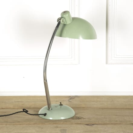French Green Enamel Desk Lamp LT489865
