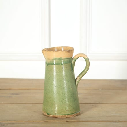 French Green Pottery Pichet DA719143