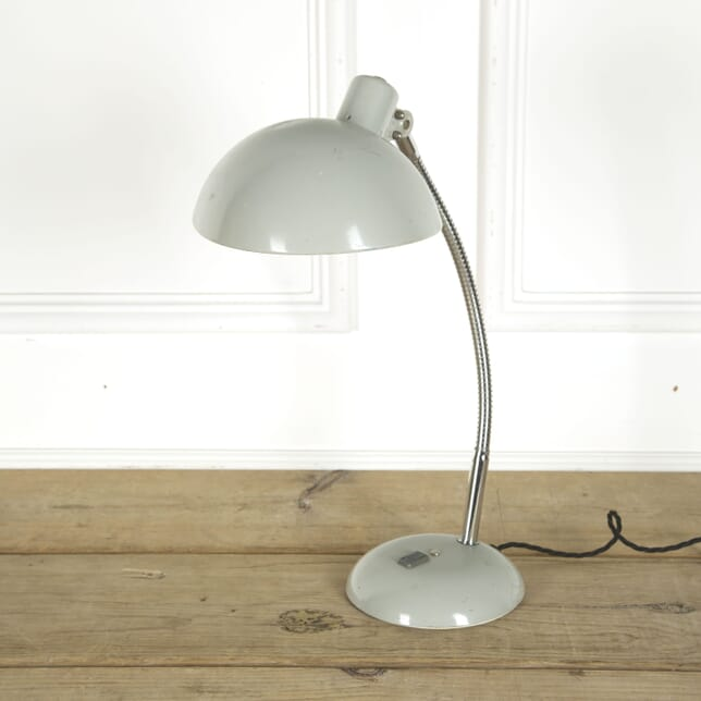 French Grey Enamel Desk Lamp LT489864
