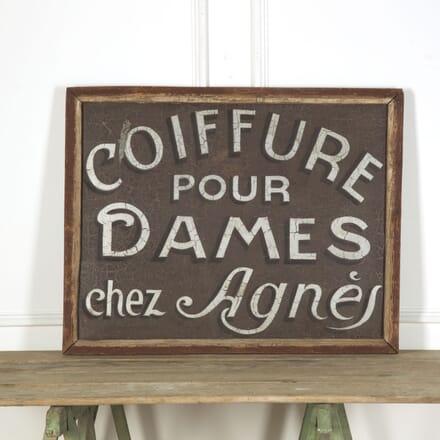 French Hair Dressers Sign DA759309